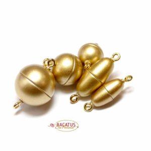 Magnetverschluss Kunststoff gold matt *Top Qualität*