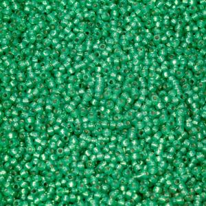 Miyuki Rocailles 11-646 dyed dark mint green 9,9g