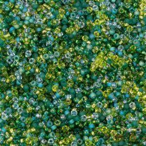 Miyuki Rocailles 11-Mix-08 ever green 9,9g