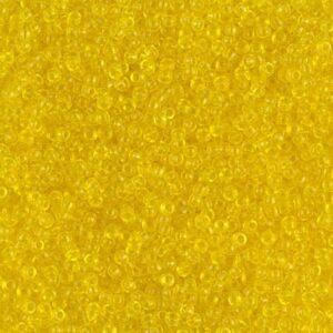 Miyuki Rocailles 15-136 jaune transparent 5g