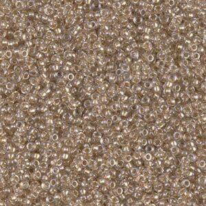 Miyuki Rocailles 15-1521 sparkle beige lined crystal (like DB 907) 5g