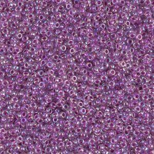 Miyuki Rocailles 15-264 cristal doublé framboise AB 5g