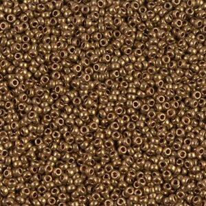 Miyuki Rocailles 15-457L bronze clair métallique (type DB 22L) 5g