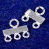 Distributore terminali multifilare argento 925 925 - 2 righe