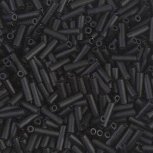 Miyuki Stiftperlen BGL2-401F matte black 5g