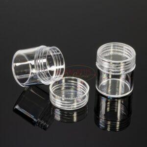 Schraubdosen transparent 26x29mm, 1x
