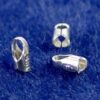End caps for leather 925 silver Ø 1.5-2 mm - 1,5mm