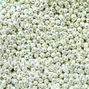 Drop Beads von Miyuki DP28-1051 galvanized silver 5g