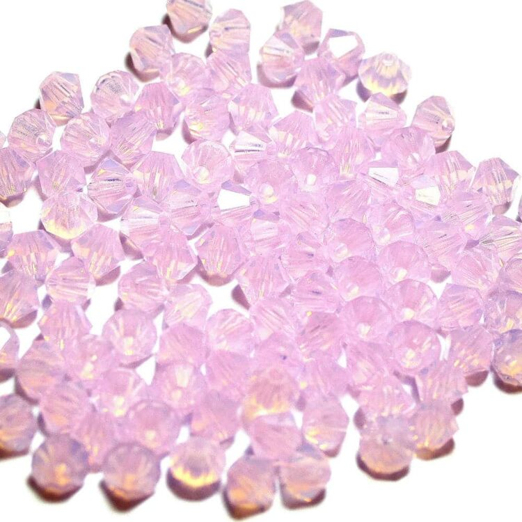 bicone-Rose-Opal