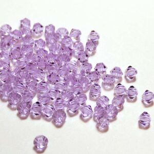 Kristallperlen Bicone PRECIOSA violet 3 – 8 mm