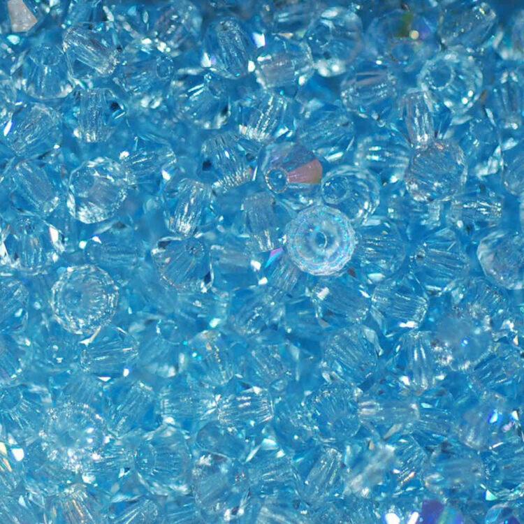 bicone aquamarine