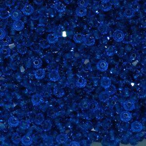 Perle di cristallo Bicono PRECIOSA capri blu 3 – 6 mm