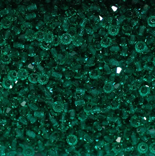 bicone-emerald