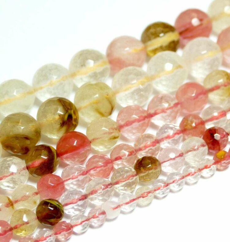 cherry-quartz-mix-faceted