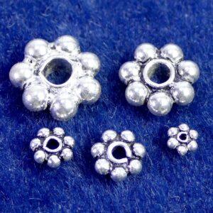Zwischenteil Daisy Spacer 925 Silber Ø 3-10 mm