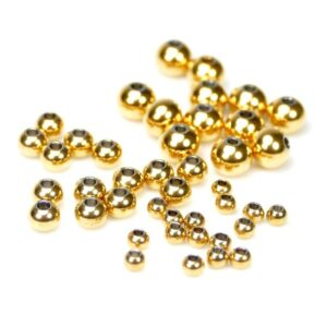 Kugel glatt Edelstahl *gold* 4-8 mm 10 Stück