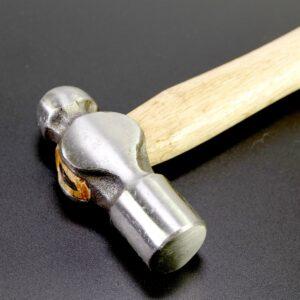 Martello da ingegnere 28,5×8 cm, acciaio ad alto tenore di carbonio e legno