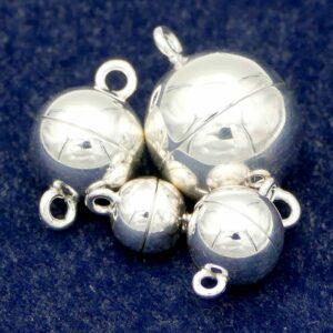 Magnetverschluss 925 Silber Ø 8 – 15 mm