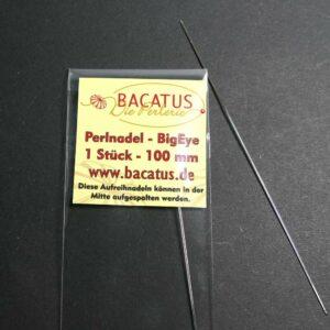 Perlnadel Nadel Big Eye von BACATUS 10cm zum öffnen