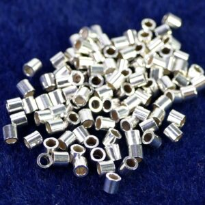 tube crimps 925 silver 10 pieces