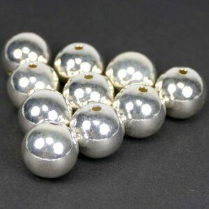 Hohlkugeln 925 Silber Ø 14 – 16 mm