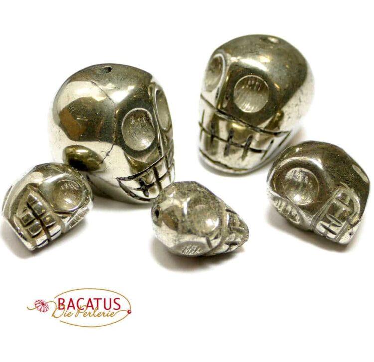 skull pyrite