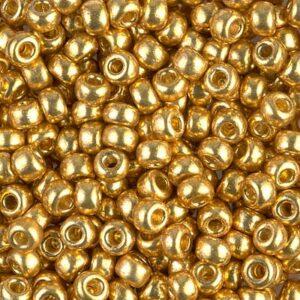 Miyuki Rocailles 6-4202 duracoat galvanized gold 9,9g