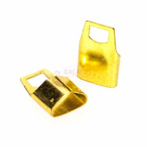 Endteil Endkappe Metall Gold 12 mm 10 Stück