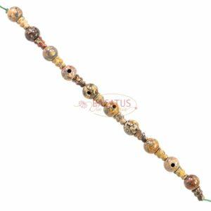 Guru Perlen Jaspis grau 2-teilig 10mm, 1 x