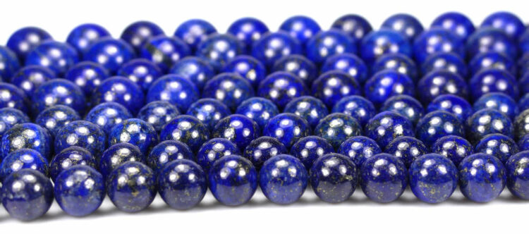Boule de lapis lazuli brillance