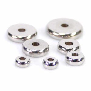 Rondelle entretoise lisse en acier inoxydable 4-10 mm 10 pièces