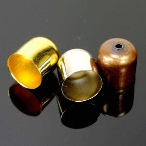 Endteil Endkappe Metall Ø 10 mm 5 Stück