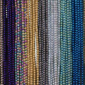 Sfera di ematite lucida, selezione colore 2 – 8 mm, 1 capo