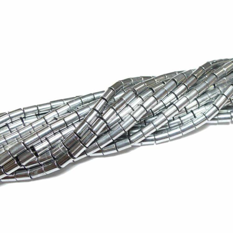 hämatit-röhrchen-silber