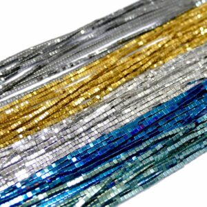 Cubo di ematite selezione colore lucido 1 – 10 mm, 1 capo