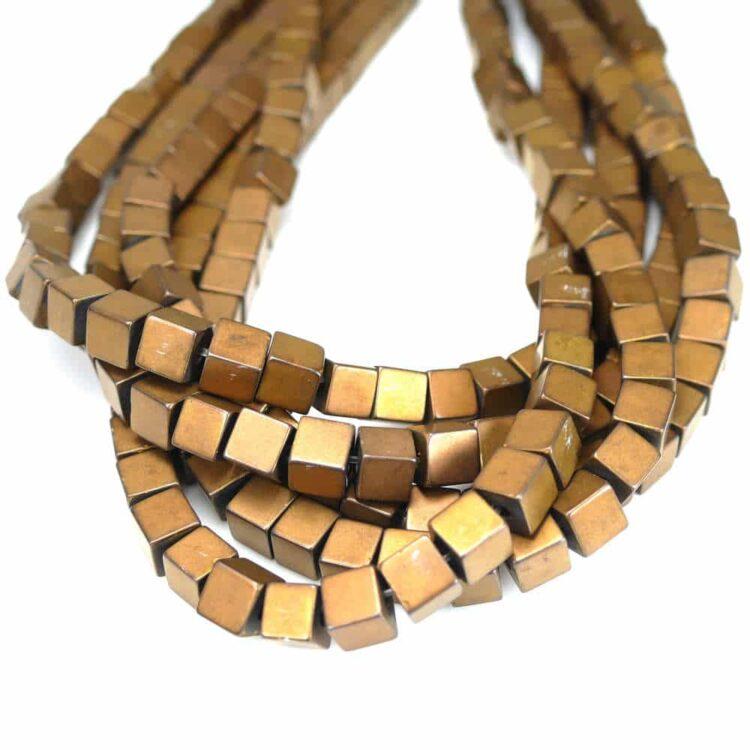 hematite-cube-matt-bronze