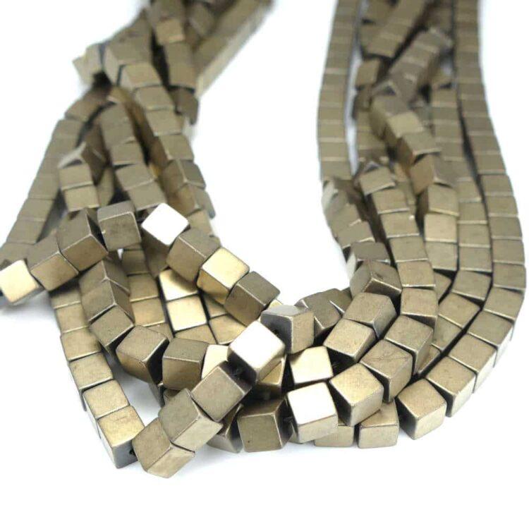 hematite-cube-matt-brass