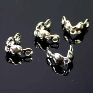 Quetschkalotten Klappkapseln Metall 4 x 8 mm 10 Stück