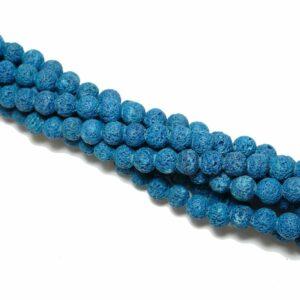 Palla di lava blu ruvida 6 – 10 mm, 1 capo