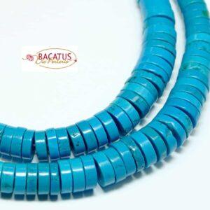 Ruote per collana in magnesite graduate 2×4-3×12 mm, 1 filo