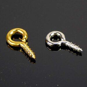 Ösenschraube Gewinde Metall 8 mm 10 Stück