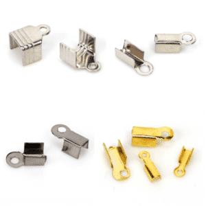 Endkappen Endteile Metall Farbauswahl Ø 1,5 – 5 mm 10 Stück