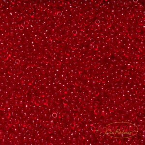 Miyuki Rocailles 11-141SF semi-frosted transparent ruby 9,9g