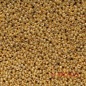Miyuki Rocailles 11-5101 duracoat galvanized pale gold 9,9g