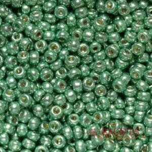 Miyuki Rocailles 6-4214 duracoat galvanized dark mint green 9,9g
