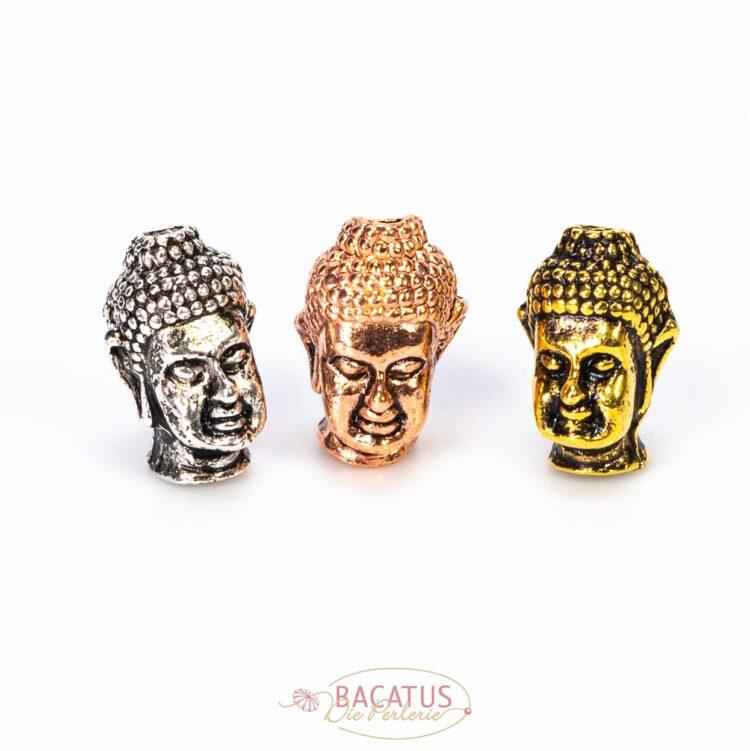 Metallperle-buddha