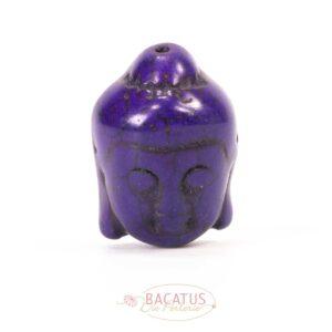 Stone bead Shiva head 29×20 mm color selection