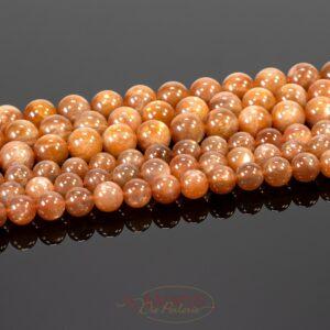 Perline di pietra solare AAA da 6 e 8 mm, 1 filo