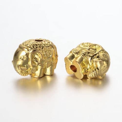 Metallperle-elefant-go