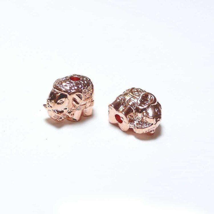 Metallperle-elefant-rg
